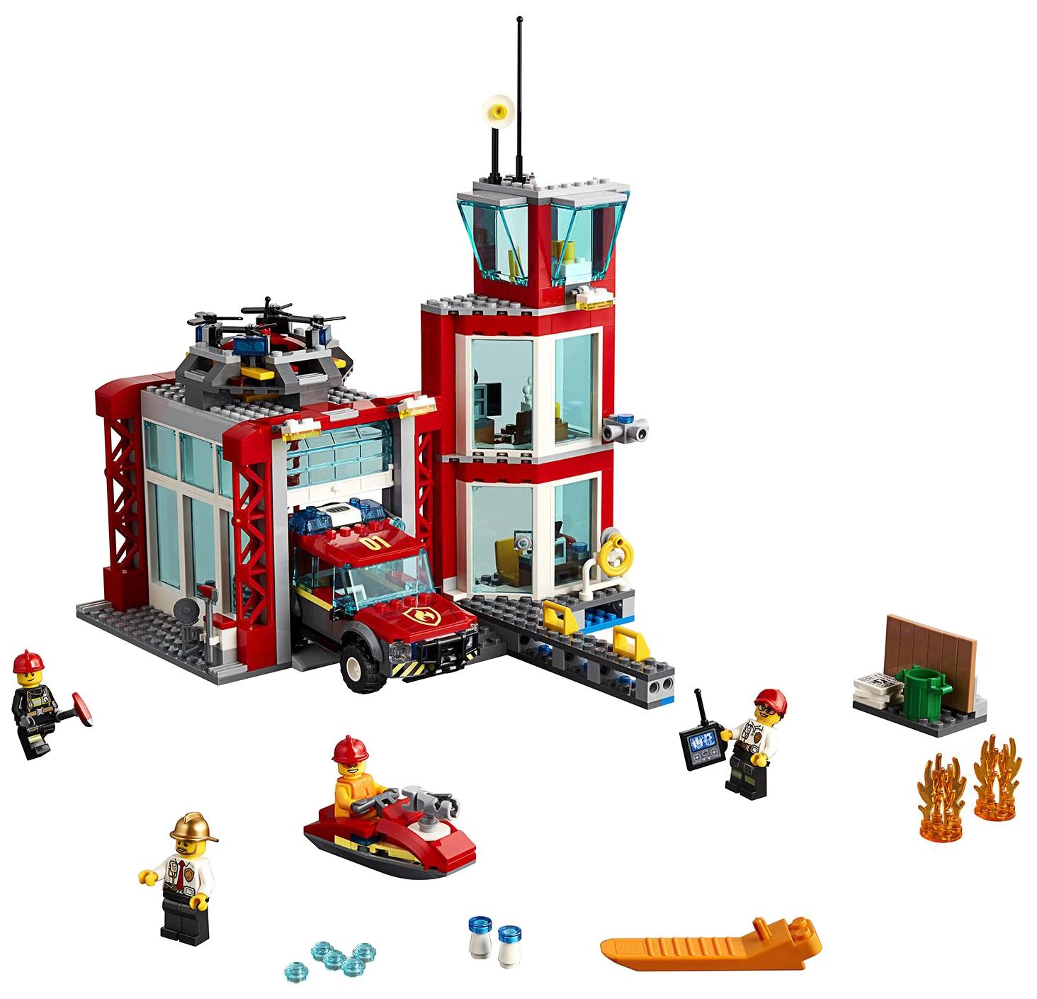 Конструктор LEGO City 60215 Пожарное депо фото