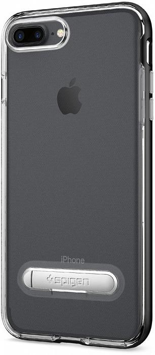 Чехол с подставкой Spigen Crystal Hybrid (043CS20508) для iPhone 7 Plus/8 Plus (Gunmetal)