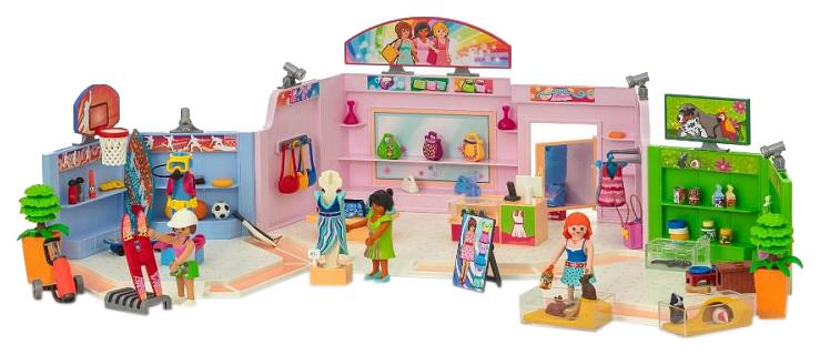Игровой набор Playmobil Шопинг: Торговый центр