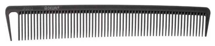 Купить Расческа Dewal Микрофибра с силиконом С раздельным зубцом Антистатик 20 см Серый