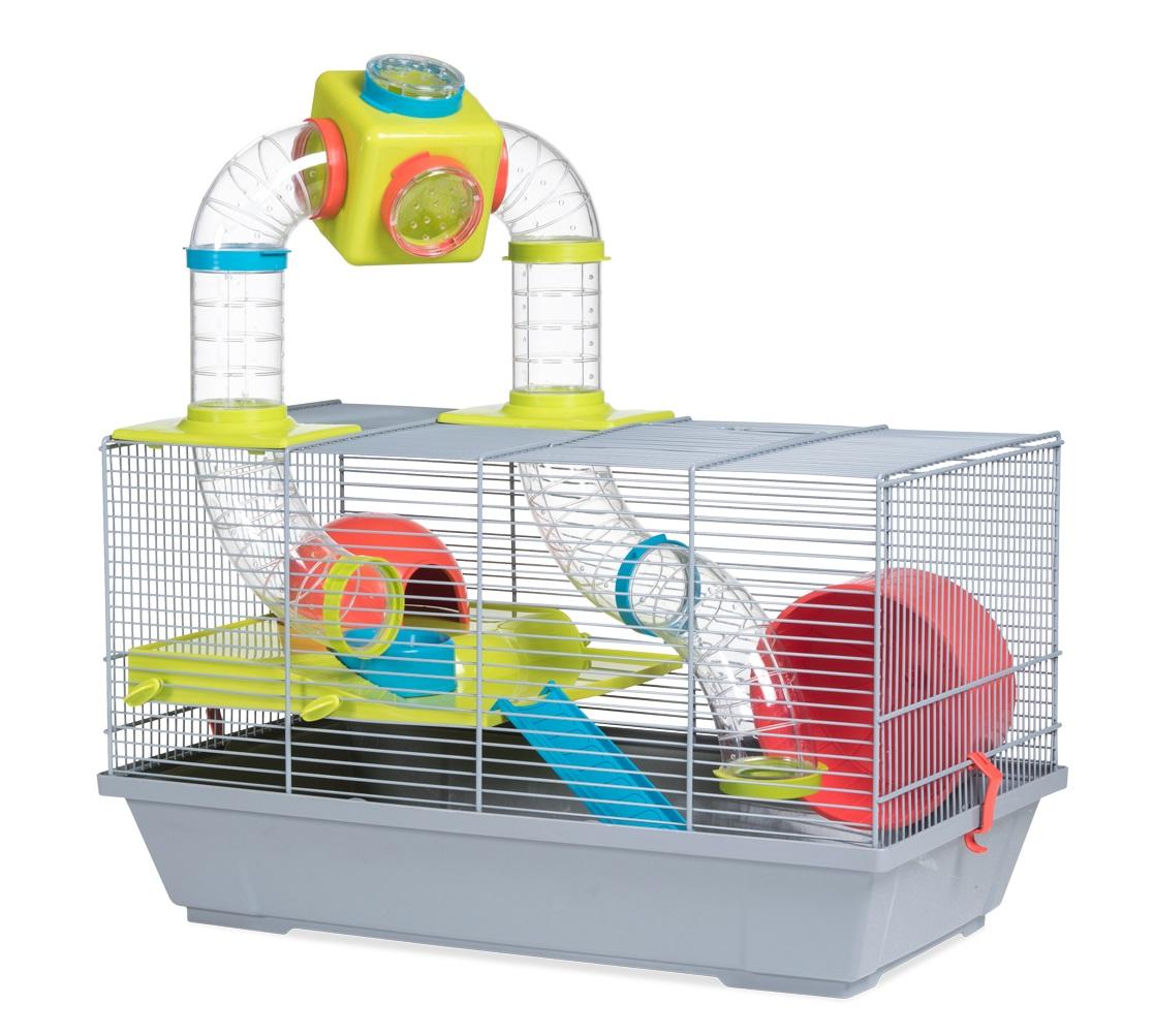 Клетка для крыс, морских свинок, мышей, хомяков Voltrega 32х28х50.5см