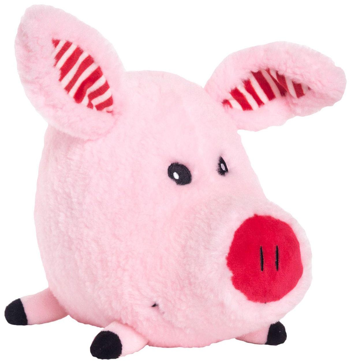 Купить Мягкая игрушка Button Blue Поросенок Хрюн 20 см, Мягкие игрушки животные