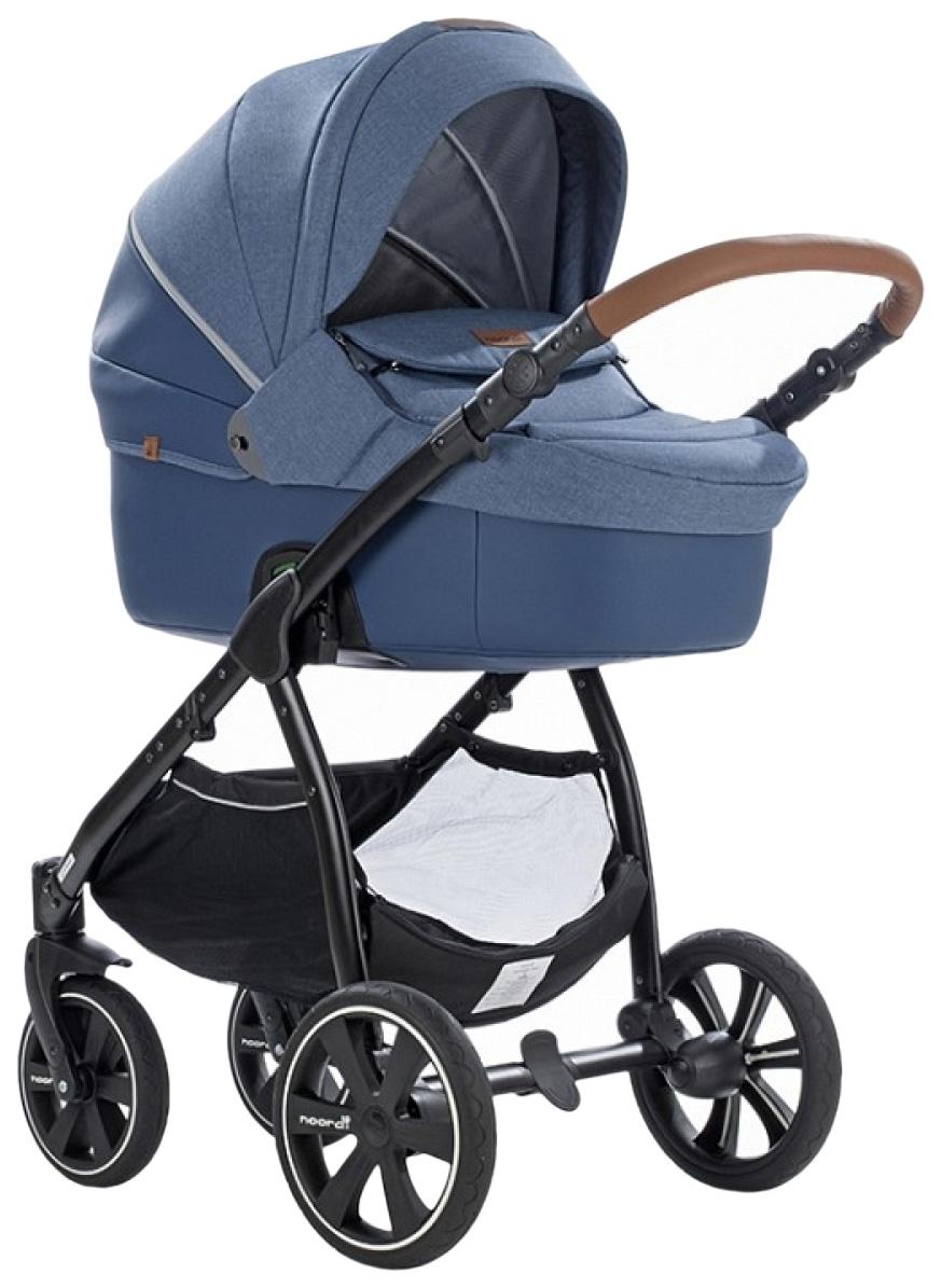 Купить Коляска детская 2 в 1 Noordi Fjordi Melange Sport Leather 2662849/SP Синий,