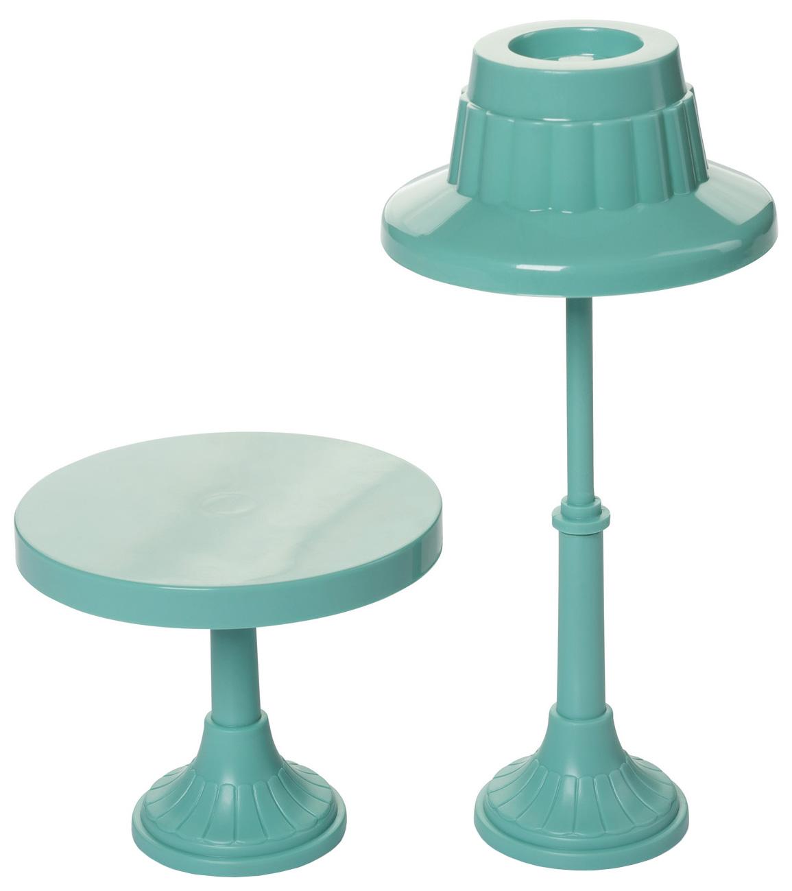 Мебель для кукол Огонек Торшер и столик, Транспорт для кукол  - купить со скидкой