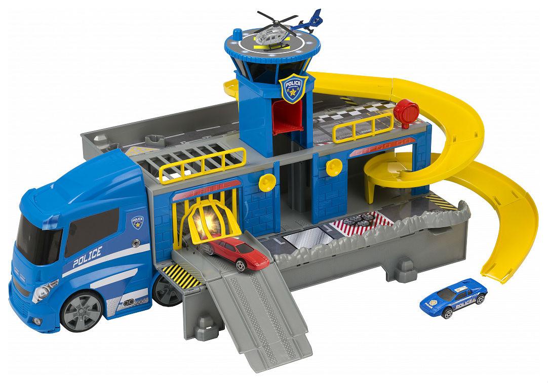Купить Автотрек HTI Полицейский грузовик, Детские автотреки
