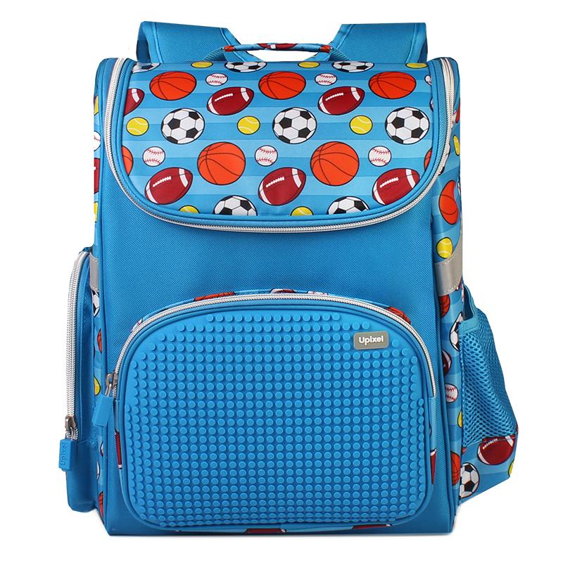 Купить Детский рюкзак Upixel Game High WY-A039 Голубой, Школьные рюкзаки для девочек