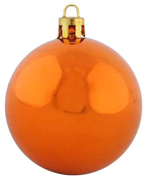 Набор елочных шаров Snowmen ЕК0344 Оранжевый