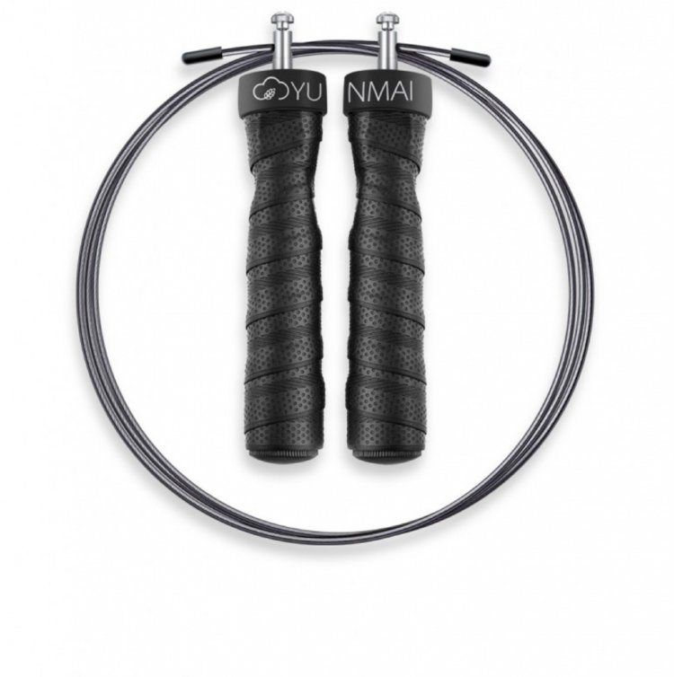 Скакалка Xiaomi Yunmai Sport Rope Skipping базовая версия черная 170 см фото
