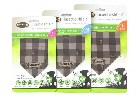 Бандана для собак SCRUFFS Insect Shield