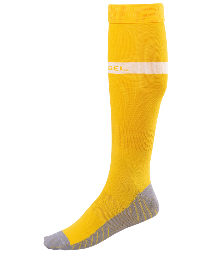 Гетры Jogel JA 003, желтые/белые, 28