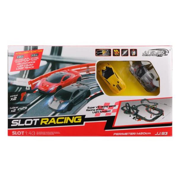Купить Автотрек Наша игрушка электрифицированный Y255419B, Детские автотреки