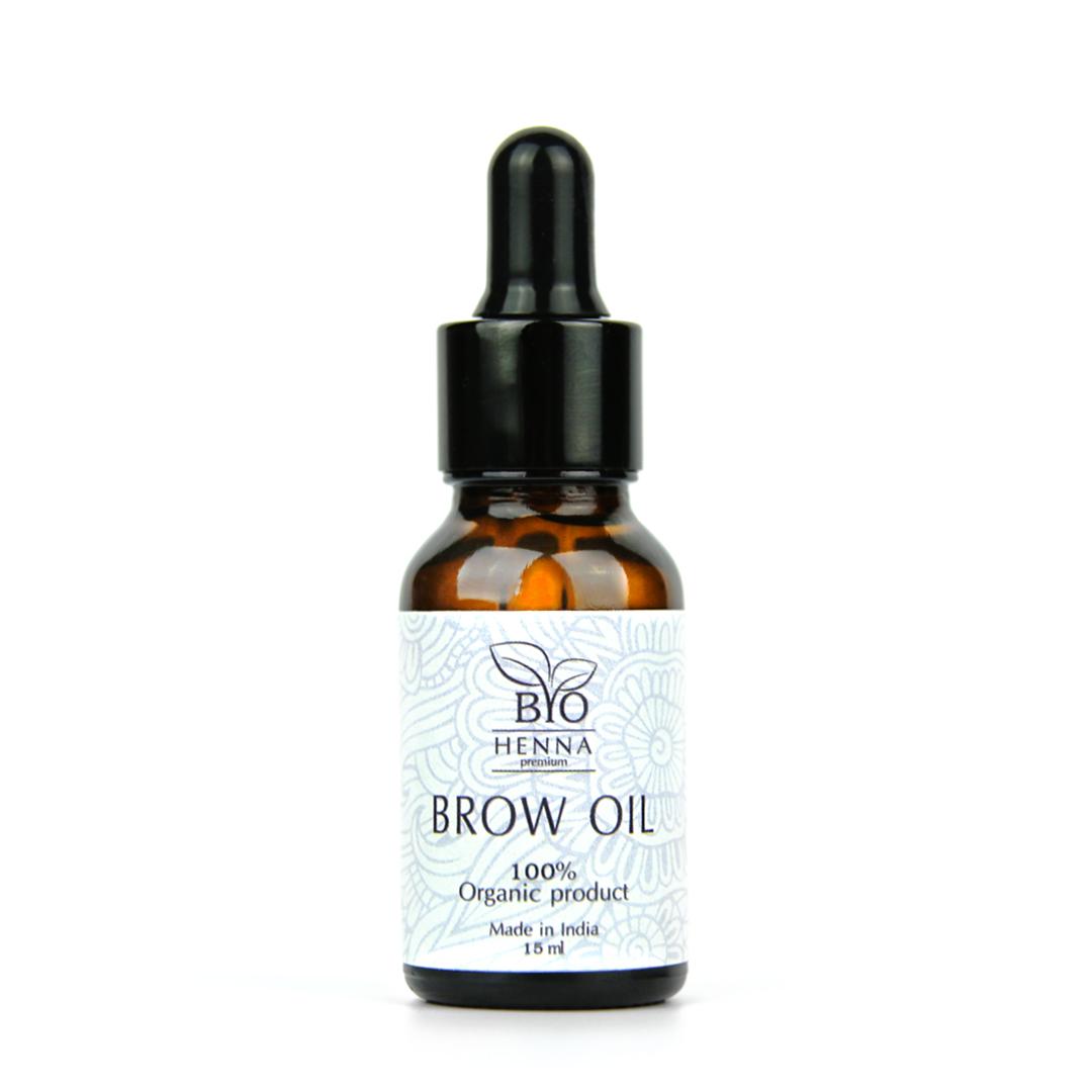 Масло для роста бровей Bio Henna Premium