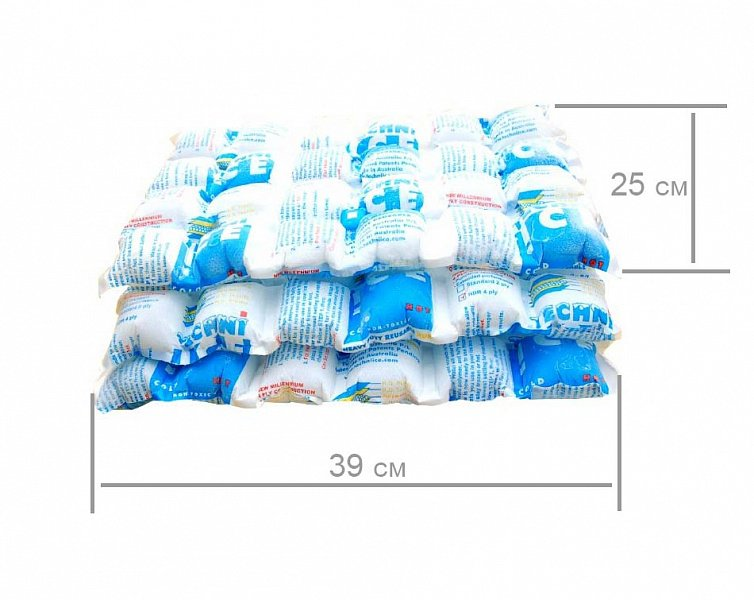 Многоразовый лёд Techniice HDR  6 листов