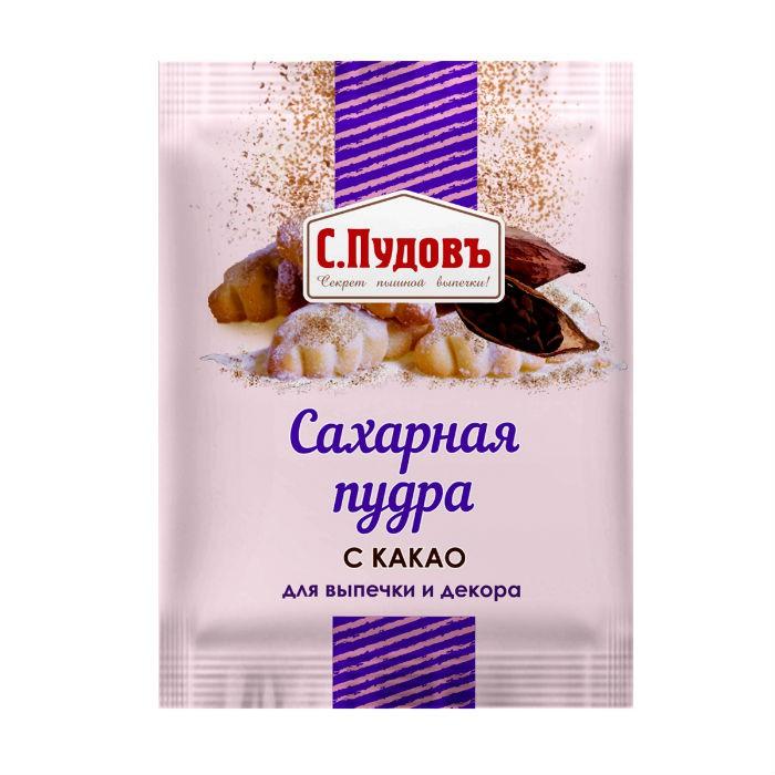 Сахарная пудра с какао ТМ С.Пудовъ 40 г фото
