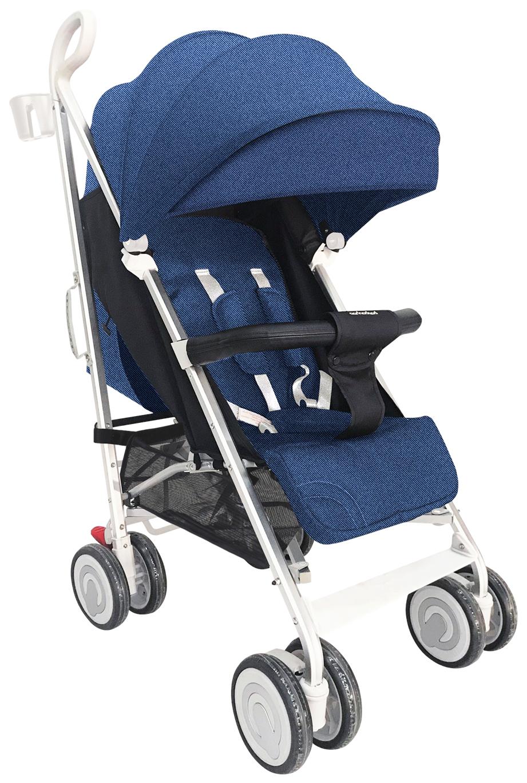 Прогулочная коляска Farfello QE9 тёмно-синий