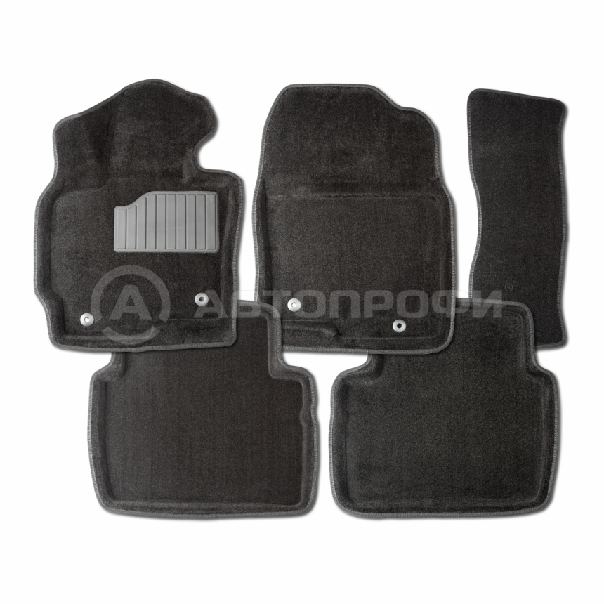 Ворсовые коврики 3D для Honda Accord IX 2012- / 88360