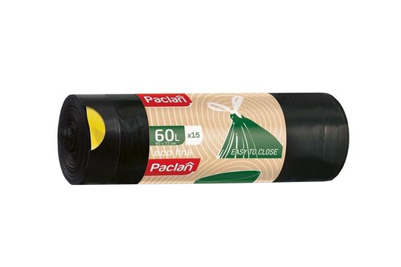 Мешок для мусора Paclan с тесьмой