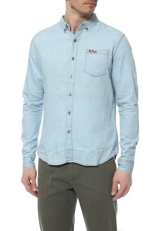 Рубашка мужская Lee cooper черная XL MT2G113738AS2LC/LW