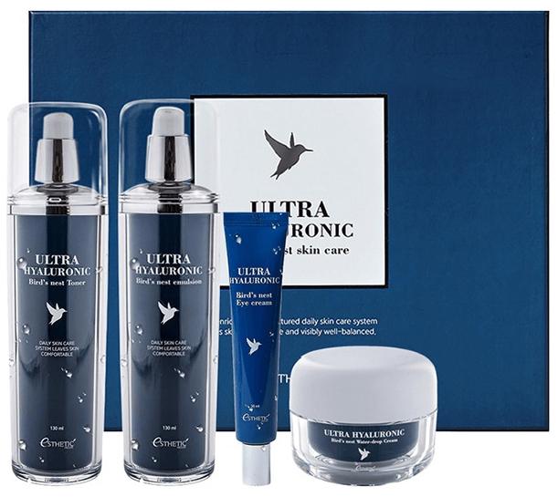 Набор косметики для лица Esthetic House Ultra Hyaluronic Acid Bird\'s Nest Skin Care Set