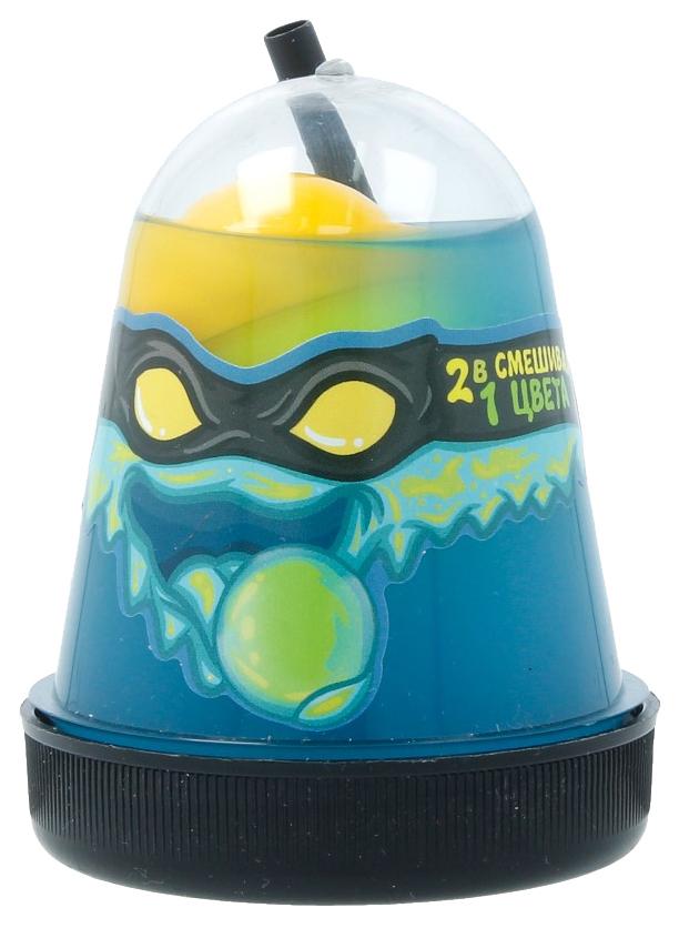 Купить Игрушка SLIME S130-1 Ninja, 2 в 1 синий и желтый,