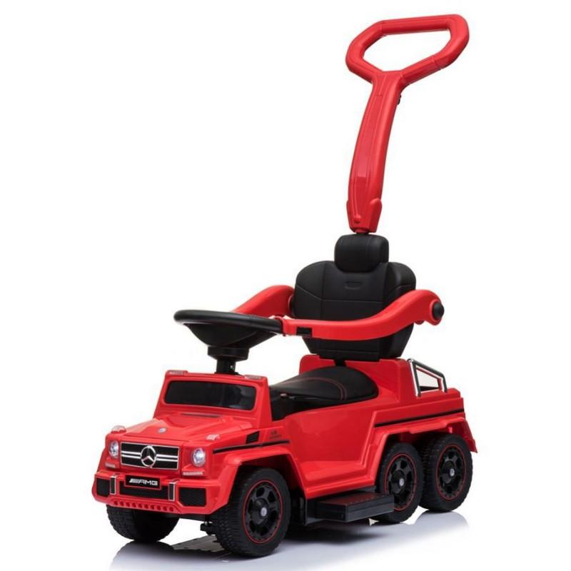 Купить Толокар Rivertoys Mercedes-Benz A010AA-H шестиколесный красный, Каталки детские