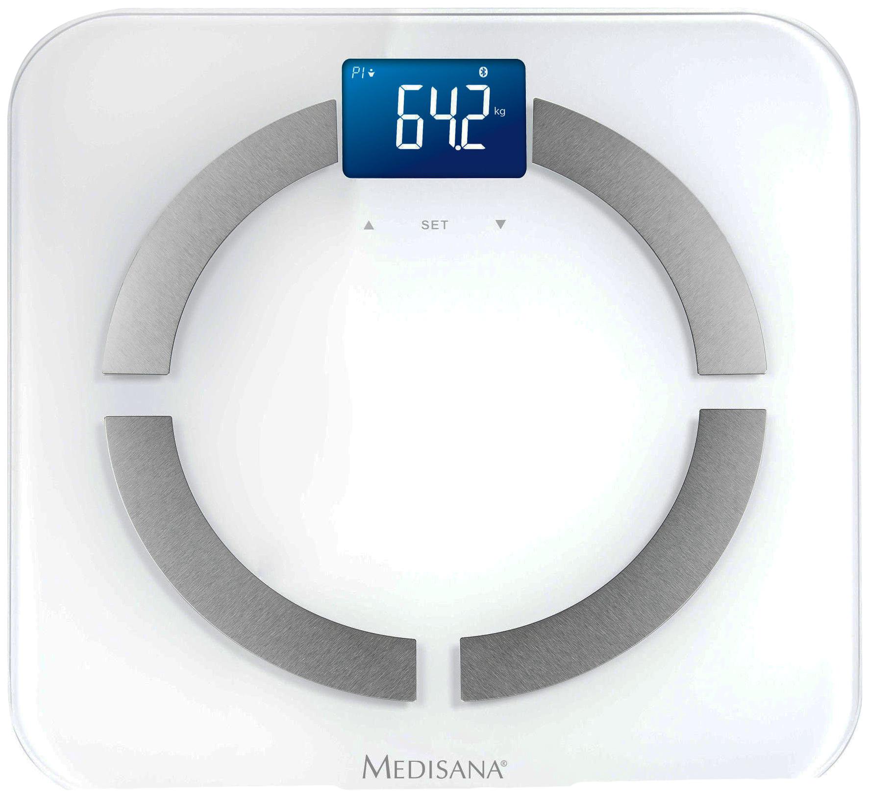 Весы напольные Medisana Connect BS 430 White/Silver