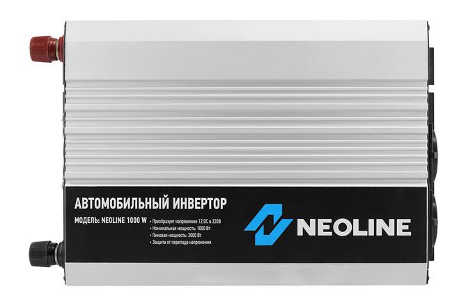 Автомобильный преобразователь напряжения Neoline 12В 220В 1000Вт