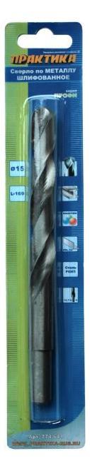 Сверло по металлу для дрелей, шуруповертов Практика 774-641 фото