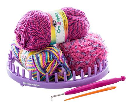 Крейзи нитс набор для вязания стильная шапка-колпак