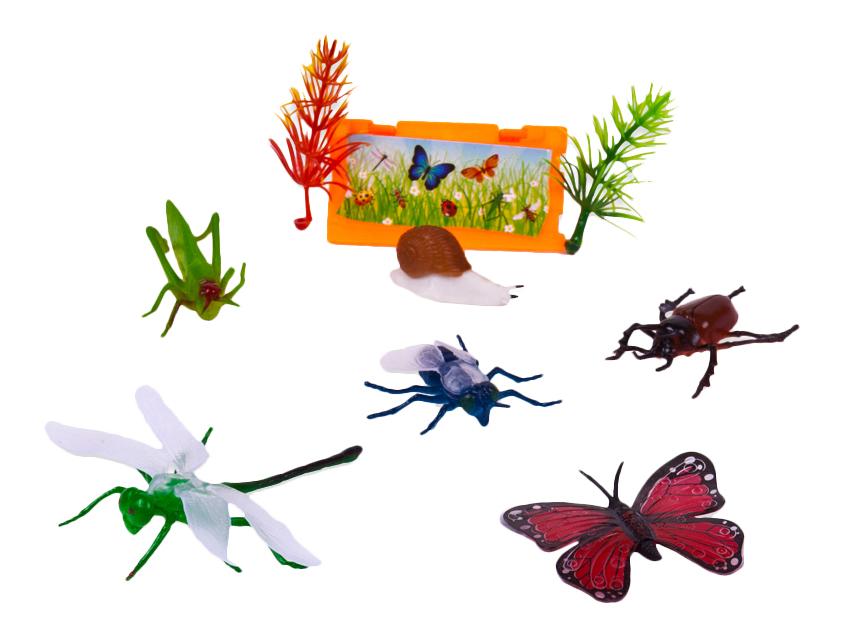 Купить В мире животных. фигурки насекомых pt-00598, ABtoys, Фигурки животных