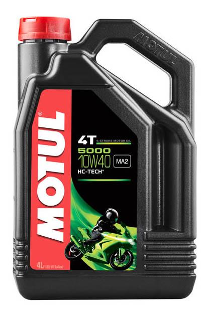 Моторное масло Motul 5000 4T 10W-40 4л 104056