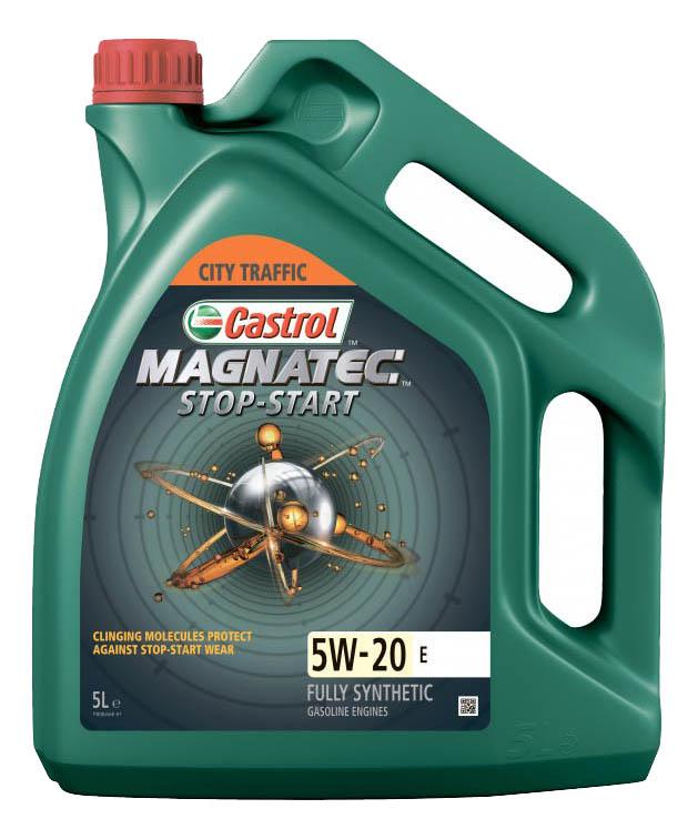Моторное масло Castrol Magnatec Stop-Start 5W-20 5л