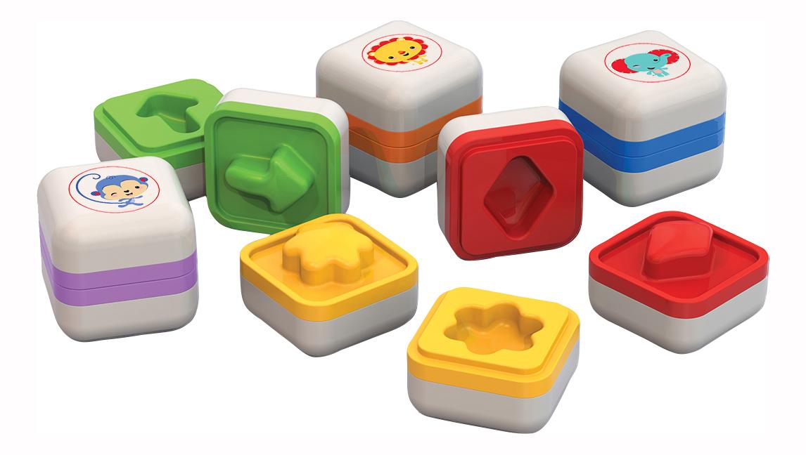 Купить Хитробоксики Фишер Прайс, Логическая игра хитробоксики фишер прайс, НОРДПЛАСТ, Развивающие игрушки