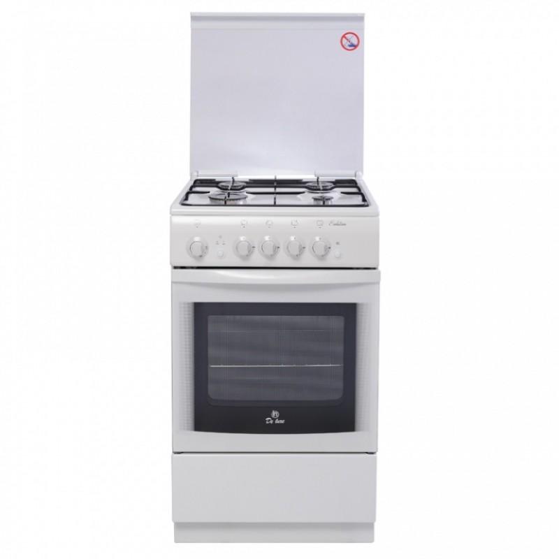 Газовая плита DeLuxe 5040.36г White