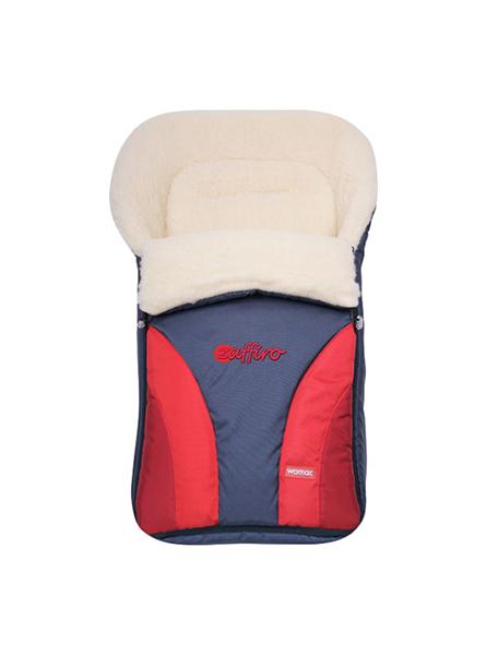 Конверт-мешок для детской коляски WOMAR Crocus 677 цвет Красный
