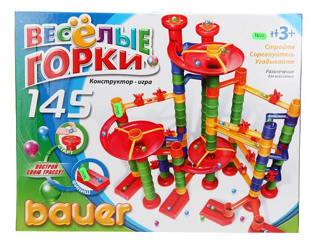 Конструктор Кроха Bauer Веселые Горки, 145 Элементов фото