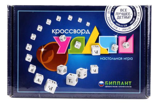 Семейная настольная игра Биплант Кроссворд удачи фото