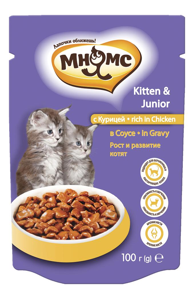 Влажный корм для котят Мнямс Рост
