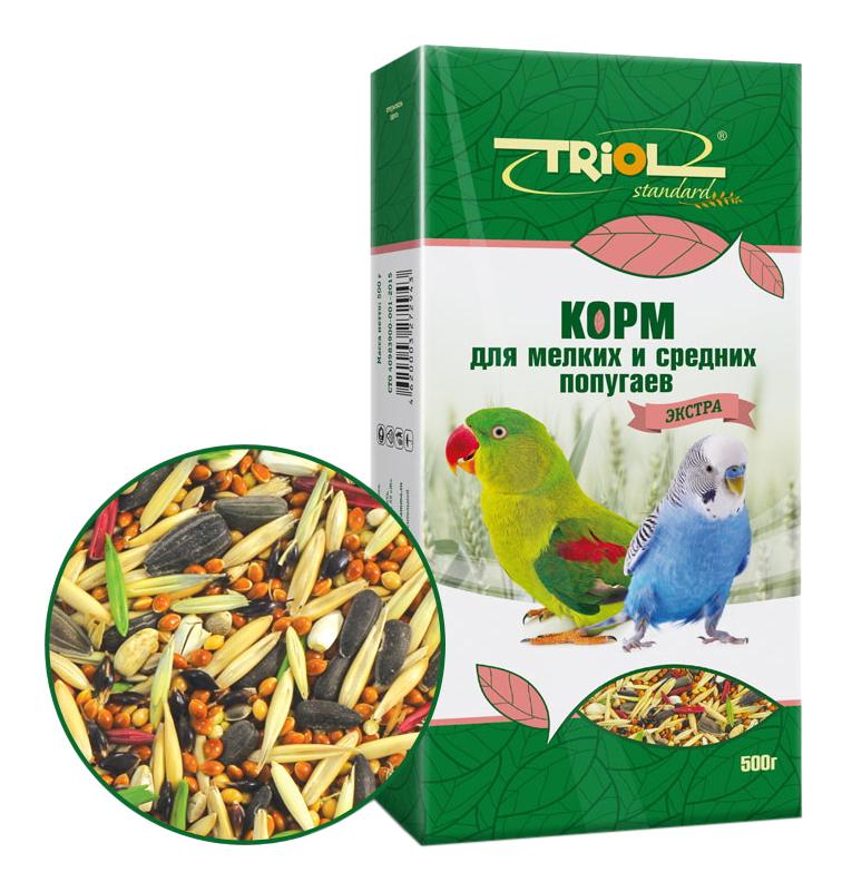 Основной корм Triol для попугаев 500