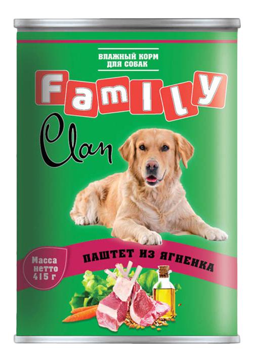 Консервы для собак Clan Family, ягненок, 415г