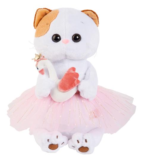 Мягкая игрушка BUDI BASA LK24-006 Ли-Ли балерина с лебедем 24 см
