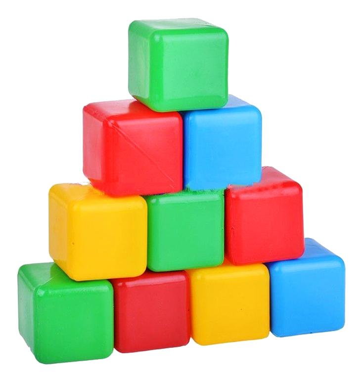 картинка Детские кубики Пластмастер Плэйдорадо Цветные от магазина Bebikam.ru