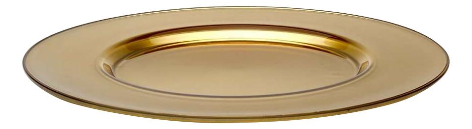 Блюдо Pasabahce Arte workshop gold 35 см фото