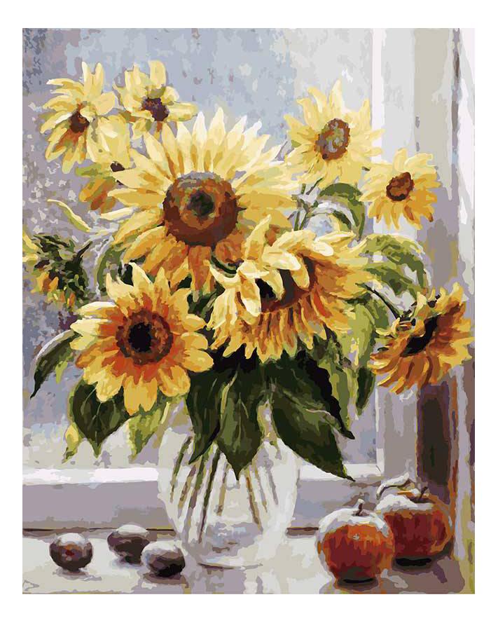 Раскраска по номерам Белоснежка Солнечное настроение