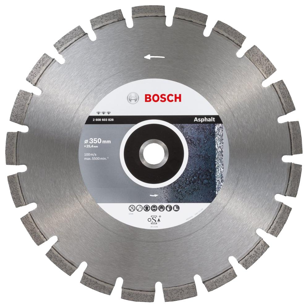 Алмазный диск Bosch Bf Asphalt 350-25,4 2608603828