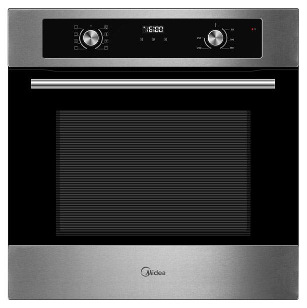 Встраиваемый электрический духовой шкаф Midea MO670A4X Silver/Black фото