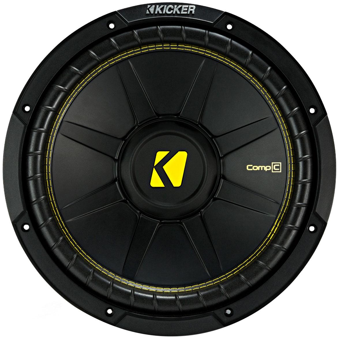 Сабвуфер автомобильный Kicker CWCS124 12'