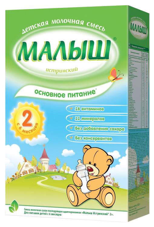 Молочная смесь Малыш Истринский Основное питание