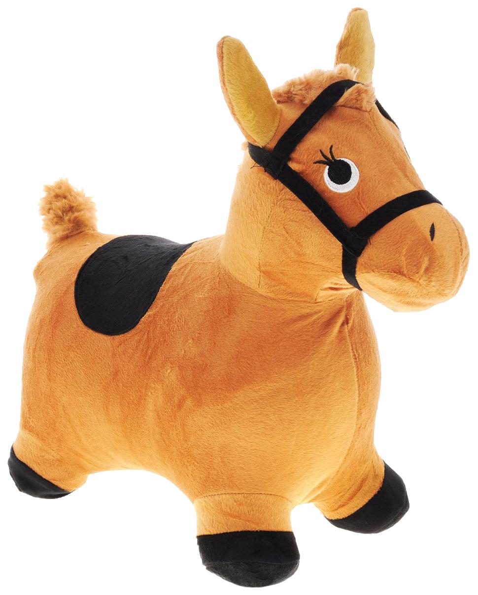 Купить Лошадка-попрыгунчик Shantou Gepai коричневая 63800, Прыгунки для детей
