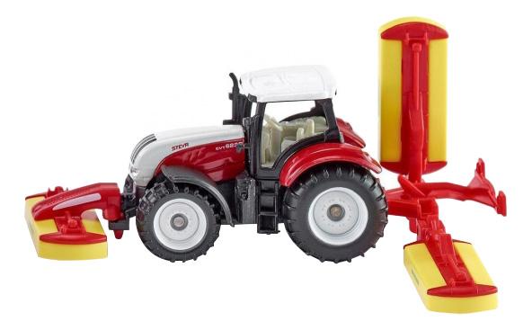 Купить Спецтехника Siku Трактор с косилками, Строительная техника